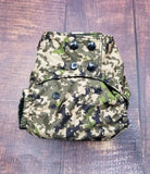 Digital Camouflage PUL Cloth Diaper