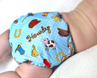 Cowboy PUL Cloth Diaper