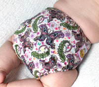 Butterfly Garden PUL Cloth Diaper