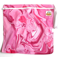 Pink Water Lilies Wet Bag