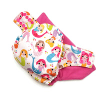 Miss Mermaid PUL Cloth Diaper