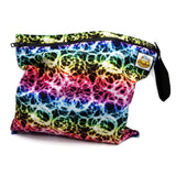 Rainbow Rings Wet Bag