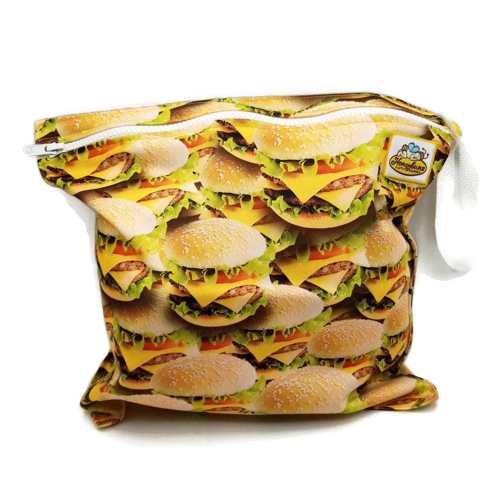 Cheeseburgers Wet Bag