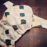 Elegant Marble PUL Cloth Diaper