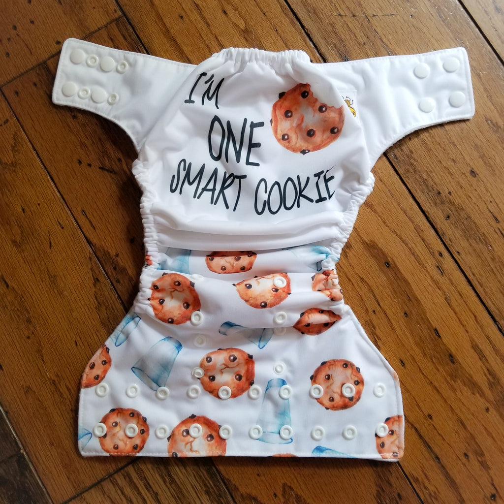 I'm One Smart Cookie PUL Cloth Diaper