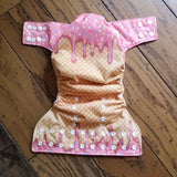Ice Cream Cone PUL Cloth Diaper