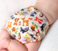Forest Friends PUL Cloth Diaper