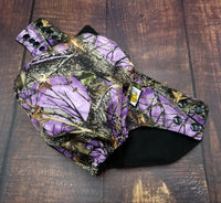 True Timber Purple PUL Cloth Diaper