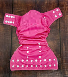 Pink Tiny Dots PUL Cloth Diaper
