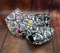 Victorian Vine PUL Cloth Diaper