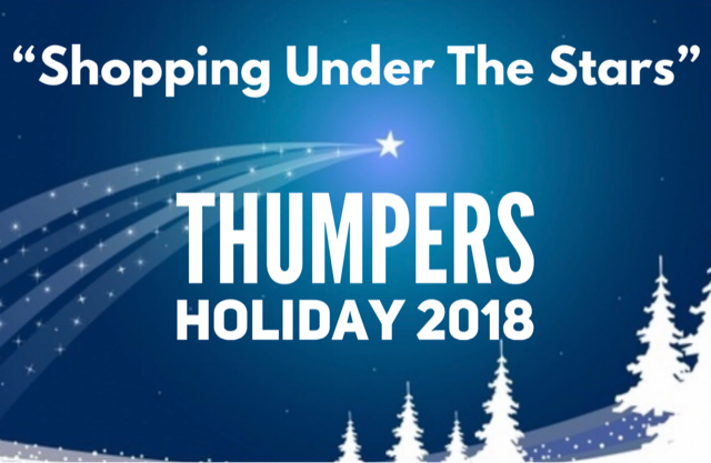 "Annual ""Shopping Under The Stars""  2018"