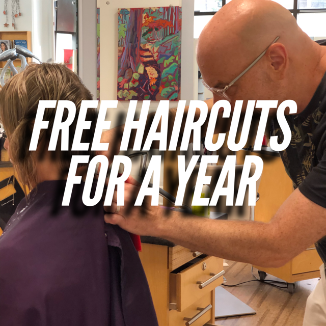 """Free Haircuts For A Year"" Is BACK!"