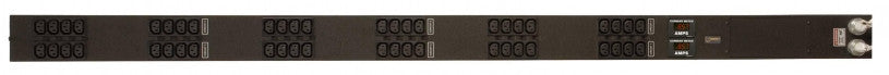 Geist - Basic-PDU- Metered, Standard, 20A, 120/208V WYE, 3 Phase, Vertical, (48) IEC C13, 10 ft power cords with L21-20P, Current - Local 3 Phase Scrolling
