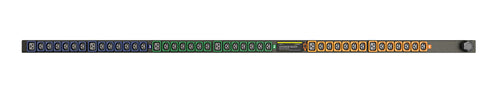 Geist PDU - Basic - PDU -  Upgradeable, 20A, 230/400V WYE, 3 Phase, Vertical, (36) Locking IEC C13, (6) Locking IEC C19, 10 ft power cord with L22-20P