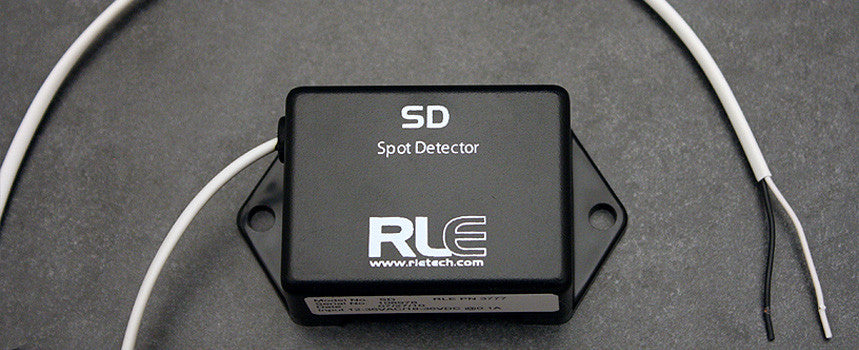Spot Detectors for Conductive Fluids- Spot detector; conductive fluids, 14ft/4.26m leader cable (for use with the Falcon FMS)