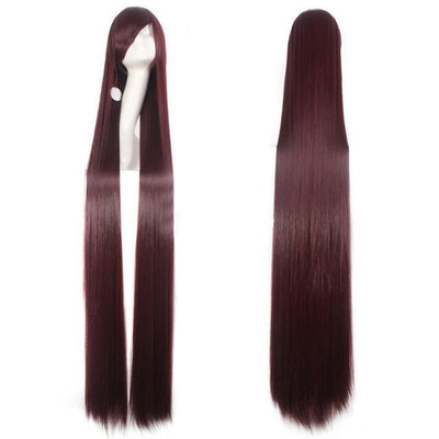 150CM Long Straight Wig Anime Cosplay Costume #JU2437-Brown 1-Juku Store