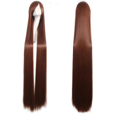 150CM Long Straight Wig Anime Cosplay Costume #JU2437-Brown 2-Juku Store