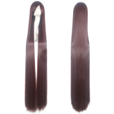 150CM Long Straight Wig Anime Cosplay Costume #JU2437-Brown 3-Juku Store
