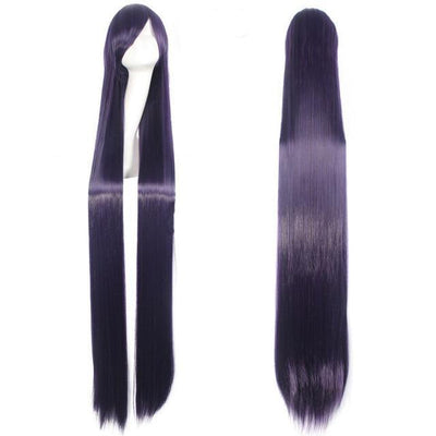 150CM Long Straight Wig Anime Cosplay Costume #JU2437-Purple-Juku Store