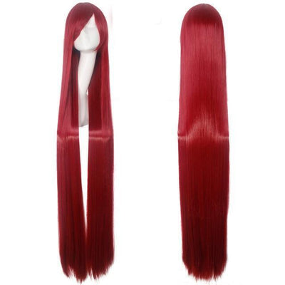 150CM Long Straight Wig Anime Cosplay Costume #JU2437-Red-Juku Store