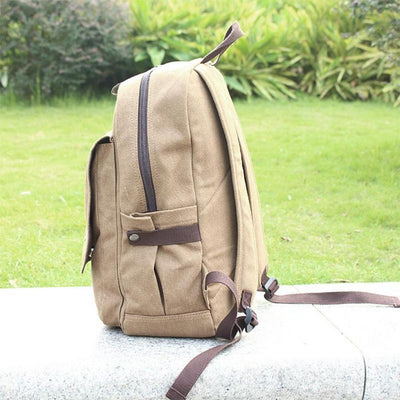 Attack on Titan Beige Backpack Schoolbag #JU1907-Juku Store