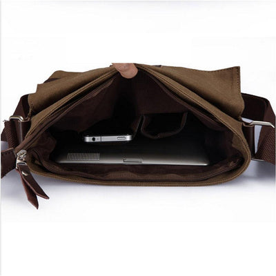 Attack on Titan Canvas Messenger Bag Cosplay Accessory #JU2528-Juku Store