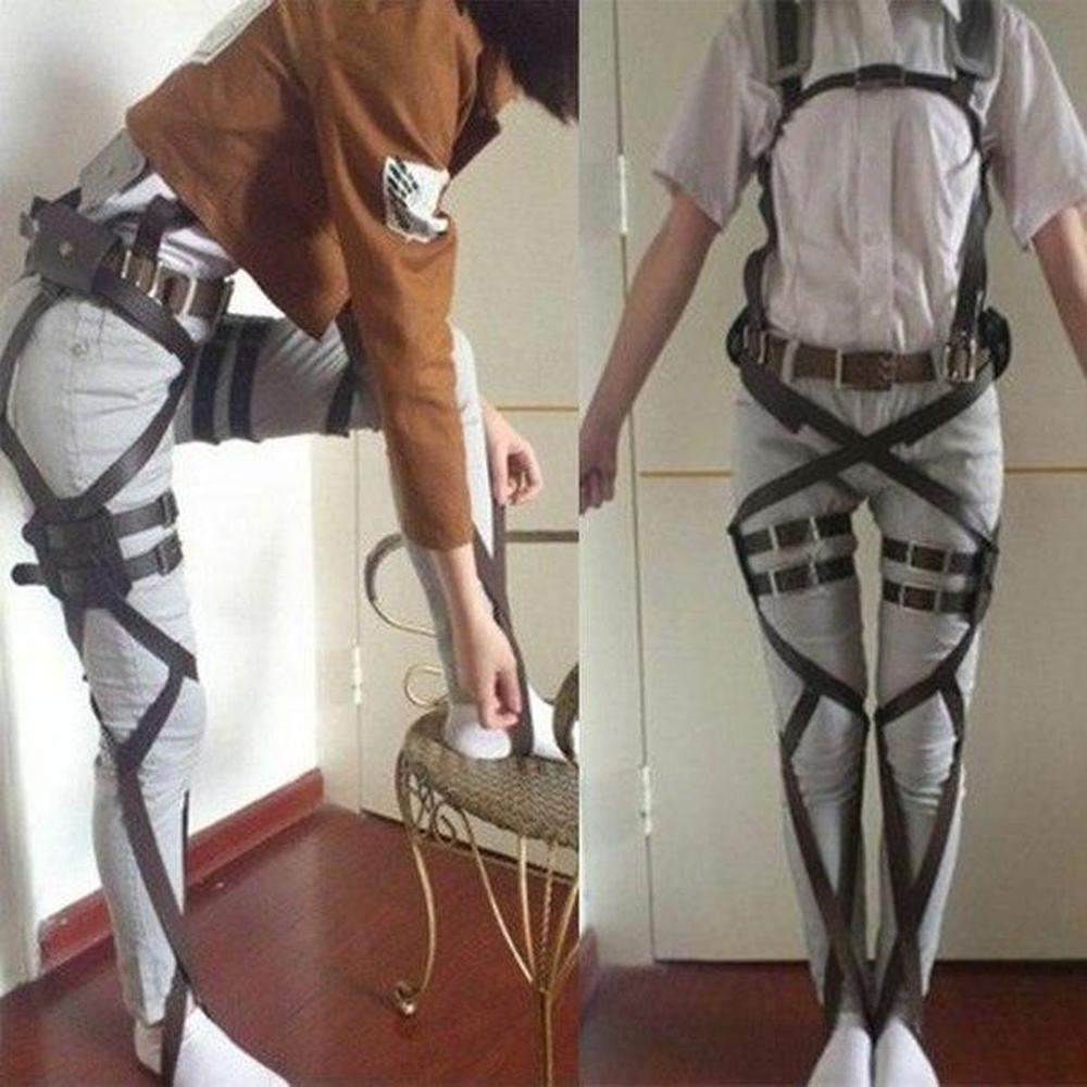 Attack On Titan Cosplay Harness Belts Costume #JU1885-Juku Store