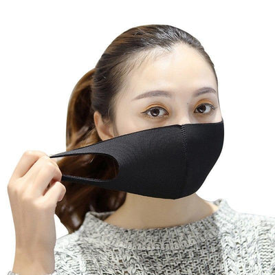 Black Mouth Mask Korean KPOP Fashion #JU2041-Juku Store