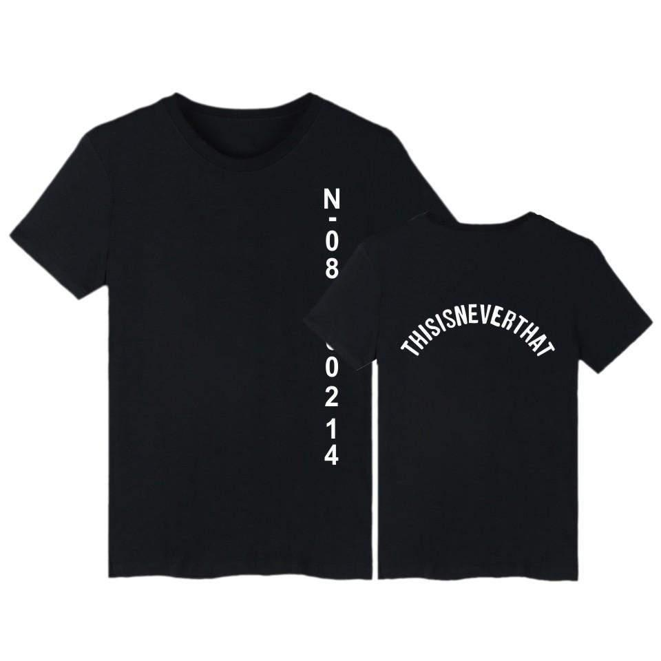 BTS Jungkook 'This Is Never That' T-Shirt [4 Colors] #JU1921-Black-XXS-Juku Store