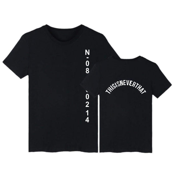 BTS Jungkook 'This Is Never That' T Shirt [4 Colors] #JU1921-Black-XXS-Juku Store