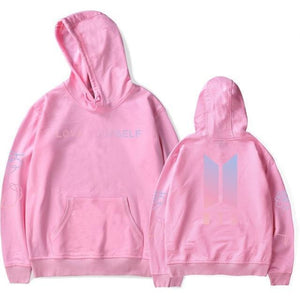 BTS Love Yourself Hoodie Jacket [11 Colors] #JU1967-Pink-S-Juku Store