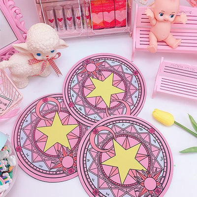 Cardcaptor Sakura Magic Clow Circle Mouse Pad [2 Colors] #JU2282-Juku Store