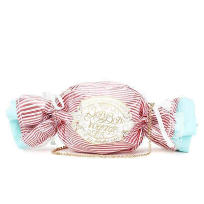 Cute Candy Design Handbag Pastel Crossbody Clutch #JU2773-Pink-Juku Store