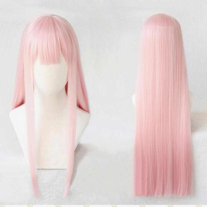 DARLING in the FRANXX 02 Wig Zero Two Cosplay [2 Styles] #JU2044-Wig and Headwear-Juku Store