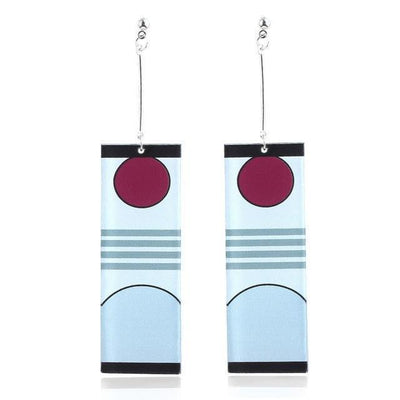 Demon Slayer Earring Anime Cosplay Accessory #JU2664-Earrings 1-Juku Store