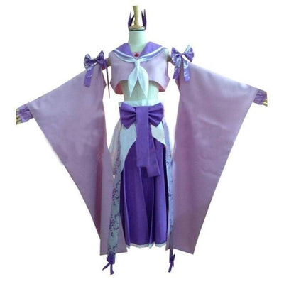 Espeon Anime Cosplay Costume Set #JU2272-Men Size-S-Juku Store