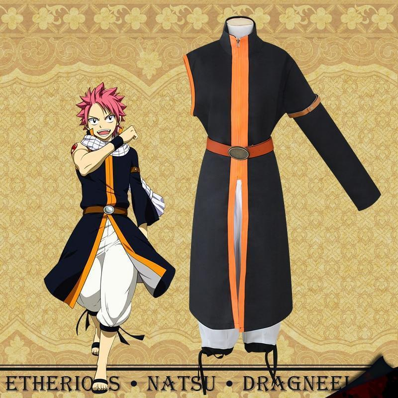 Etherious Natsu Dragneel Cosplay Fairy Tail Costume #JU2520-Juku Store