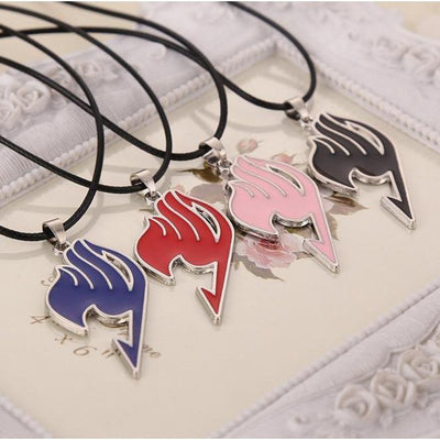 Fairy Tail Necklace Guild Anime Pendant [4 Colors] #JU2010-Juku Store