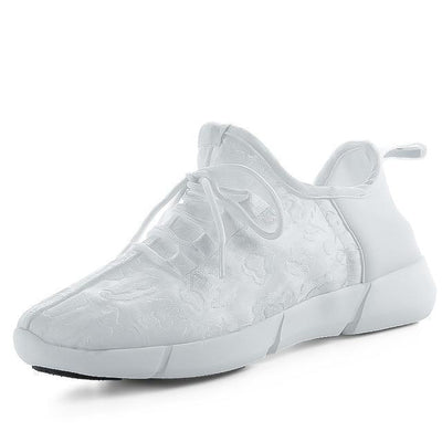 Full Surface LED Glowing Sneakers Harajuku Light Up Shoes #JU2434-White-9.5-Juku Store