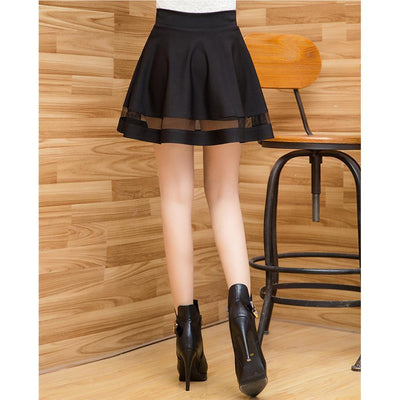 Harajuku Mini Skirt Faldas [5 Colors] #JU2205-Juku Store
