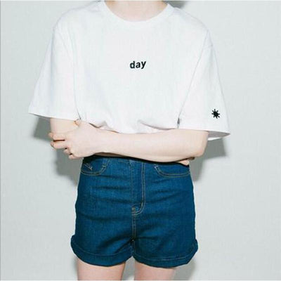 Harajuku Night & Day T-Shirt [2 Styles] #JU1958-Day-S-Juku Store