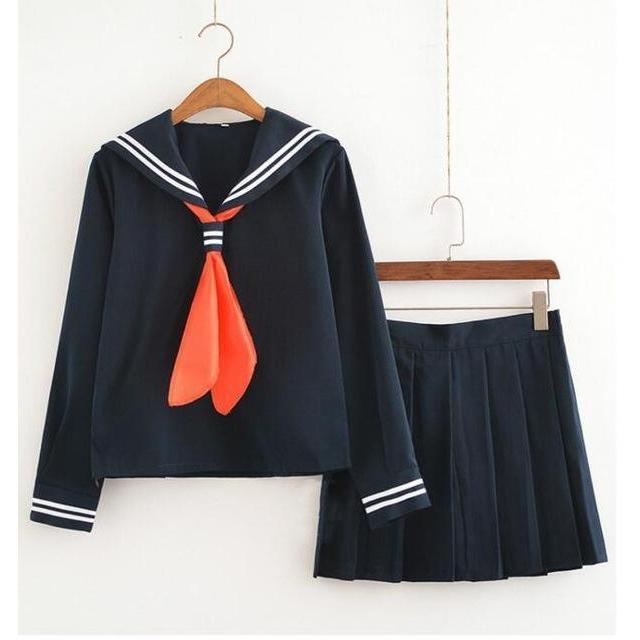 Himiko Toga Cosplay School Girl Uniform Costume [My Hero Academia] [2 Styles] #JU2089-Juku Store