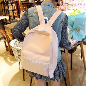 Holographic High Grade Backpack [2 Colors] #JU1870-Pastel-Juku Store