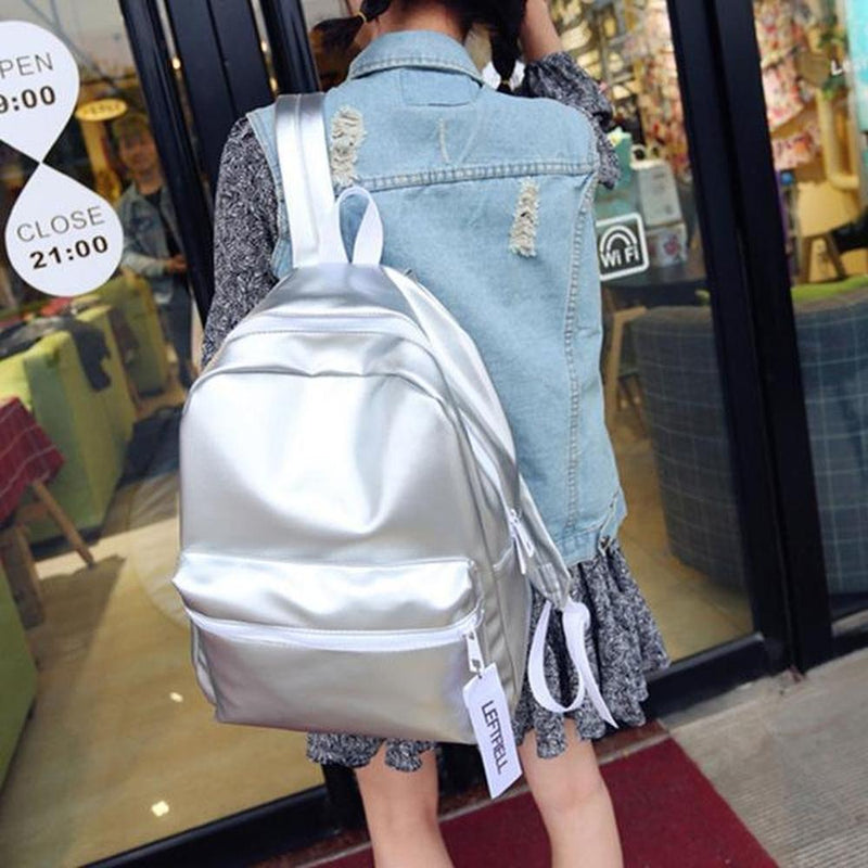 Holographic High Grade Backpack [2 Colors] #JU1870-Juku Store