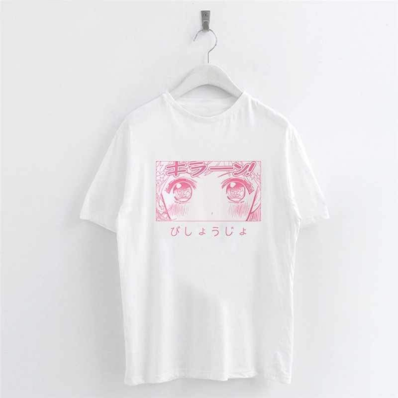 Japanese Anime Sailor Moon Casual T-Shirt Kawaii Top #JU2566-M-Juku Store
