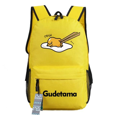 Japanese Gudetama Canvas Backpack [11 Styles] #JU1868-Style 10-Juku Store