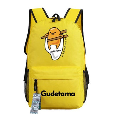 Japanese Gudetama Canvas Backpack [11 Styles] #JU1868-Style 2-Juku Store