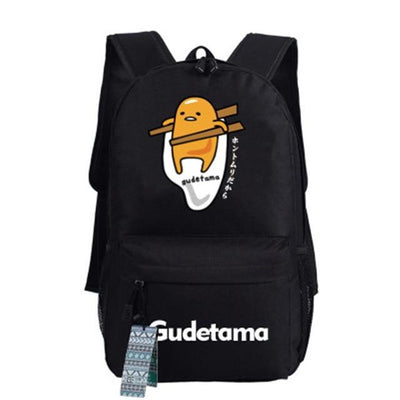 Japanese Gudetama Canvas Backpack [11 Styles] #JU1868-Style 8-Juku Store