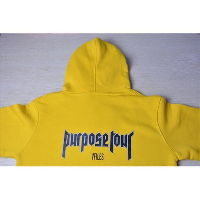 "Justin Bieber Purpose Tour ""Security"" Print Hoodie #JU2311-Juku Store"