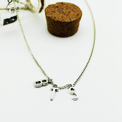 K-POP BTS Necklace #JU1974-Juku Store